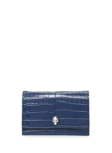 Alexander McQueen Omuz Çantası Mavi